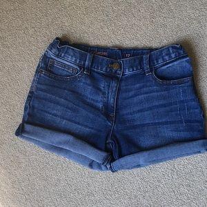 JCrew Cowgirl Jean Shorts